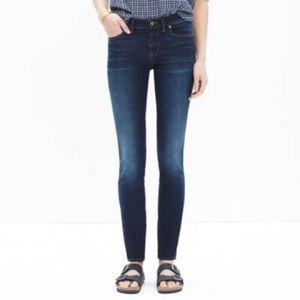 "Madewell 26 8"" skinny skinny jeans"